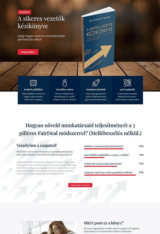 FairDeal Solutions Kft - Dr. Gyarmathy Miklós - weblapmentor értékesítési oldal készítés portfolió